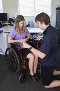 Students at able